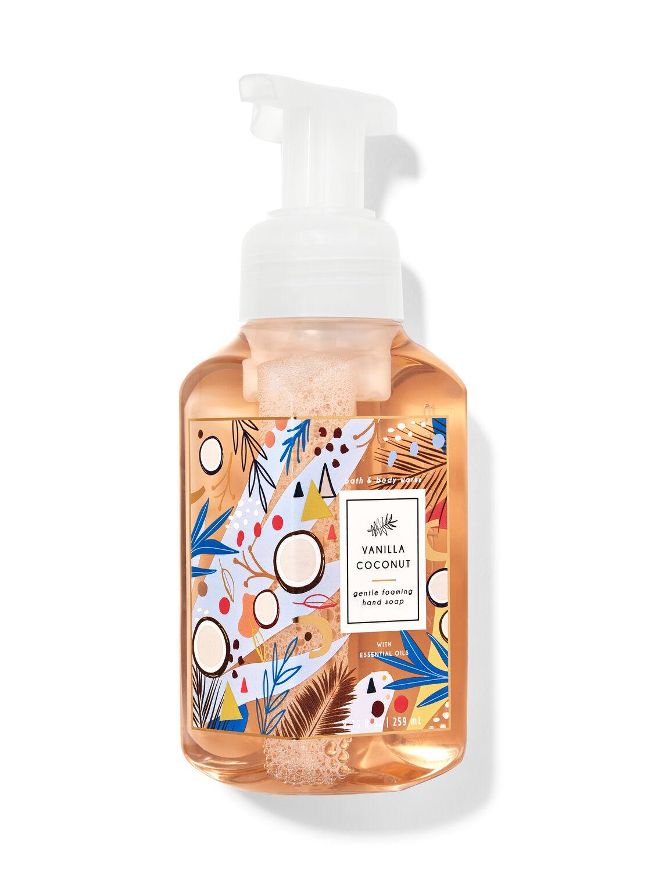 Vanilla Coconut Hand Sanitizer : vanilla, coconut, sanitizer, Vanilla, Coconut, Gentle, Foaming, Works