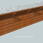 How To Build A Deck Storage Bench Bath Granite Denver