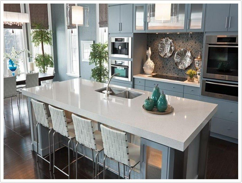 kitchen cabinets made in usa door repair arctic white msi quartz - denver shower doors & ...