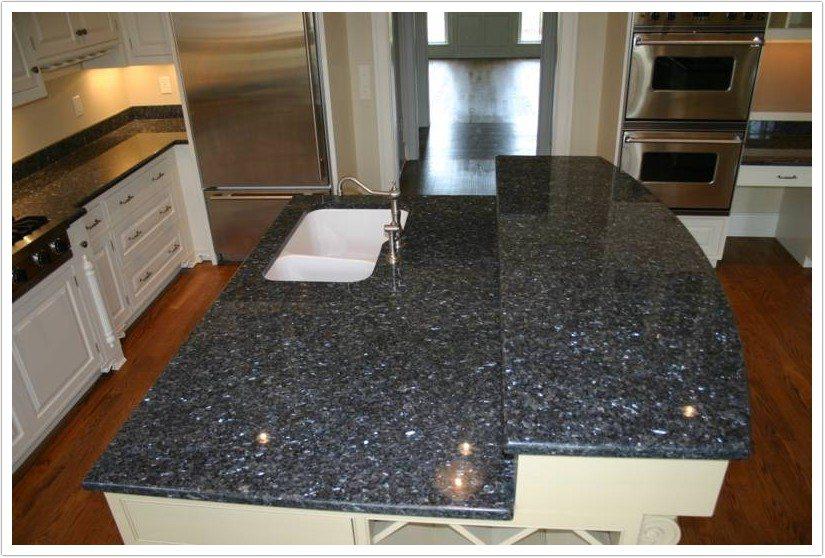 denver kitchen cabinets countertop stone options deep blue pearl granite - shower doors & ...