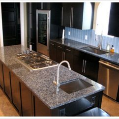 Dark Kitchen Floors Kichler Lighting Deep Blue Pearl Granite - Denver Shower Doors & ...