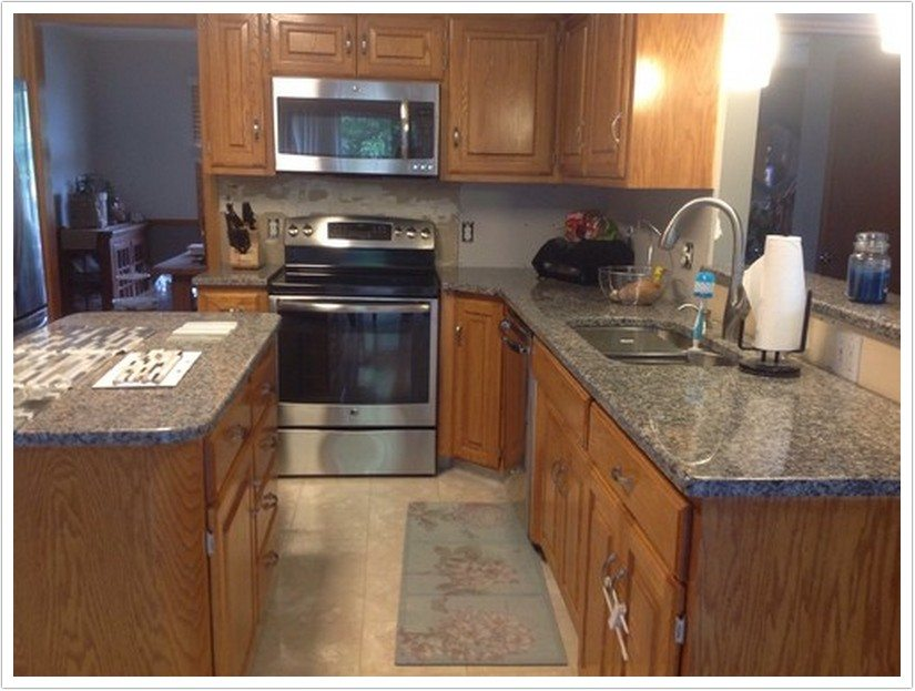 pre made kitchen cabinets free standing island new caledonia granite – denver shower doors & ...