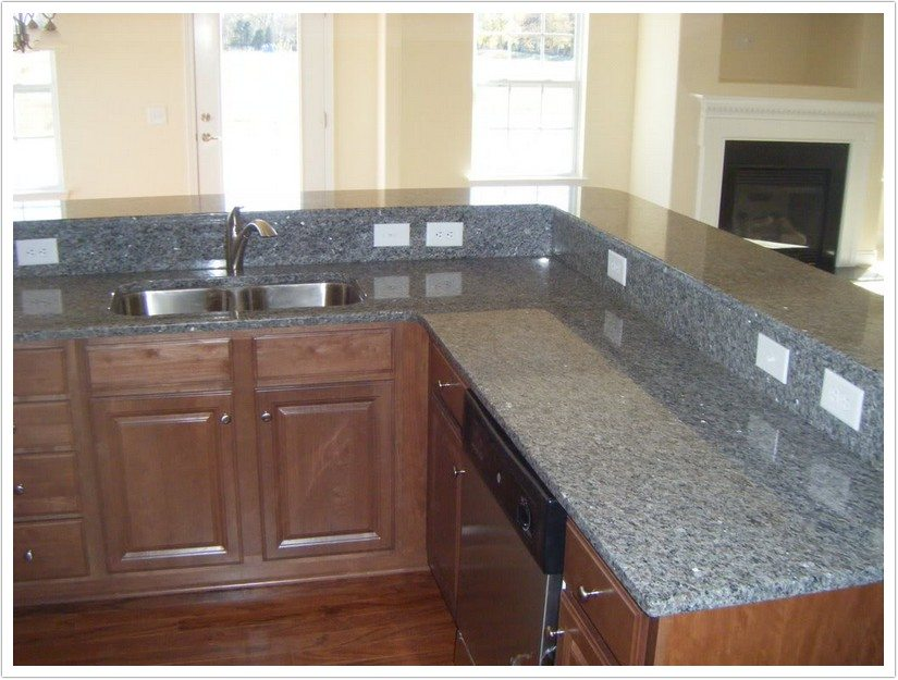 kitchen undermount sinks cost of marble countertops new caledonia granite - denver shower doors & ...