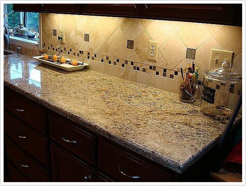 Venetian Gold Granite  Bath  Granite Denver