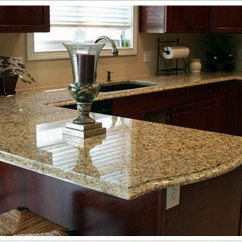 Kitchen And Bath Showrooms Faucet Handle Venetian Gold Granite - Denver Shower Doors & ...
