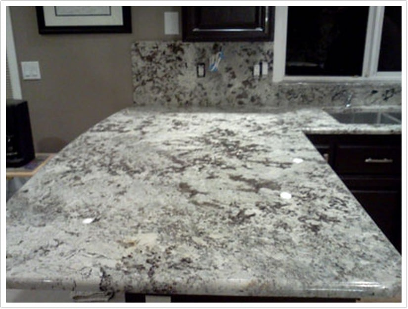 dark kitchen floors kitchens and baths bianco delicatus granite - denver shower doors & ...