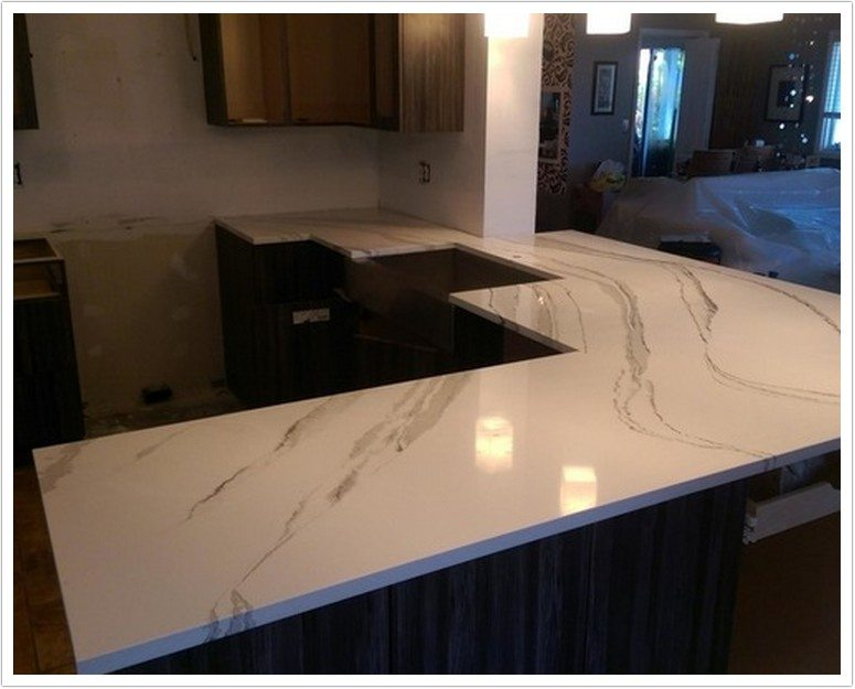 kitchen undermount sinks aid glass bowl brittanicca cambria quartz - denver shower doors & ...