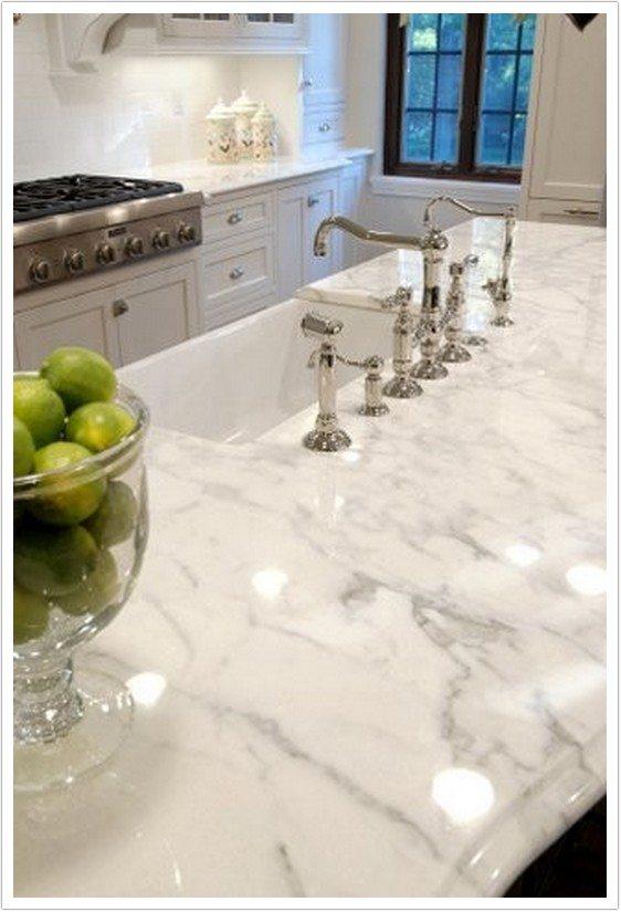 Calacatta White Marble  Bath  Granite Denver