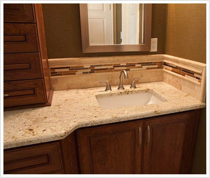 Colonial Gold Granite  Bath  Granite Denver