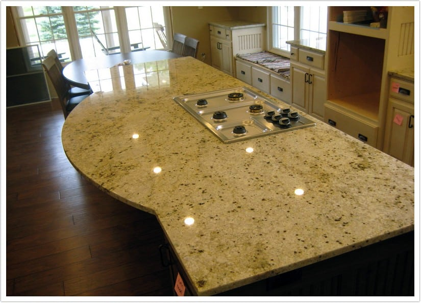 kitchen handles black backsplashes for counters colonial gold granite - denver shower doors & ...