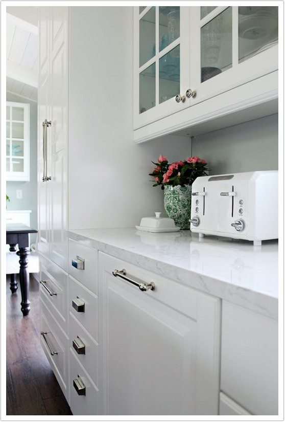 Handles And Knobs For Kitchen Cabinets Ella Cambria Quartz - Denver Shower Doors & Denver Granite