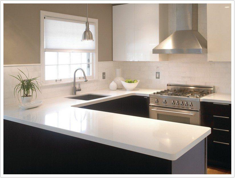 beige kitchen cabinets home depot ella cambria quartz - denver shower doors & granite ...