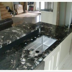 Denver Kitchen Cabinets Apron Titanium Black Granite - Shower Doors & ...