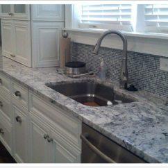 Best Undermount Kitchen Sinks Clr Bath And Cleaner White Ice Granite - Denver Shower Doors & ...