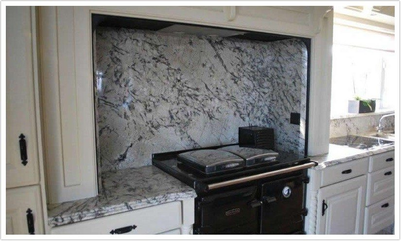White Ice Granite  Bath  Granite Denver