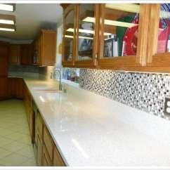 Frameless Kitchen Cabinets Appliance Packages Lowes Sparkling White Msi Quartz - Denver Shower Doors & ...
