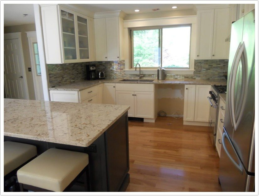 pre made kitchen cabinets best sink material windermere cambria quartz - denver shower doors & ...