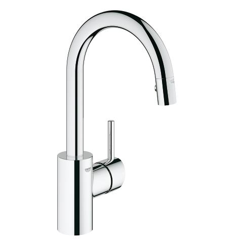 grohe concetto pull down dual spray bar
