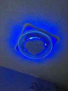 NuTone QTNLEDA LunAura Round Decorative Bathroom Fan