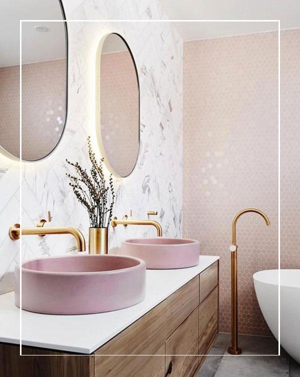 Be Bold With Colour Bathroom Trends For 2020 Bathline Bathrooms