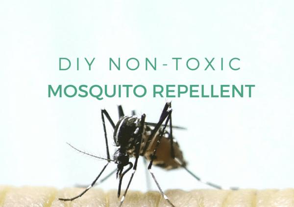 DIY Non-Toxic Mosquito Repellent
