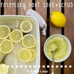 Title DIY Foot Soak & Scrub