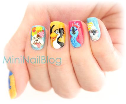 DIY- Despicable Me Nails