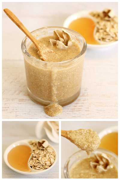 Oatmeal Honey Face Scrub Recipe