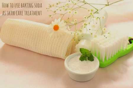 Baking soda skin care recipes