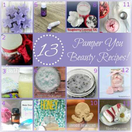 13 Wonderful Homemade Beauty Recipes