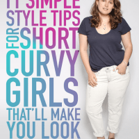 Style tips for short curvy girls