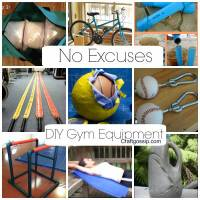 DIY Gym Equipment - No More Excuses!