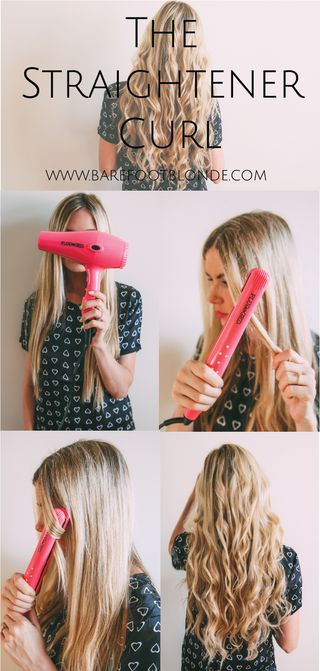 how-to-curl-hair-with-straightner