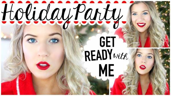 christmas-party-hair-makeup-tutorial-ideas