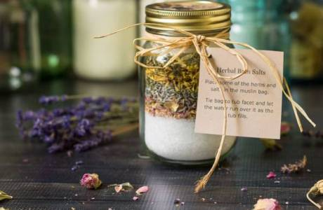 Herb & Essential Oil Bath Salts