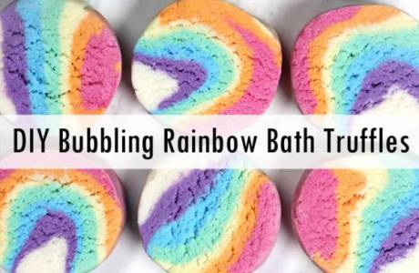 Rainbow Bubble Bath Truffles