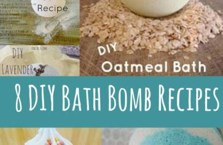 8 DIY Bath Bombs