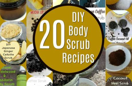 20 DIY Body Scrub Recipes
