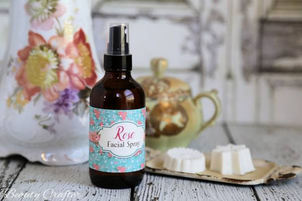 Make Your Own Rose Facial Spray