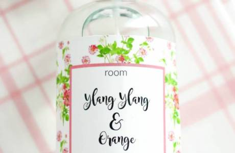 DIY Ylang Ylang And Orange Room Spray