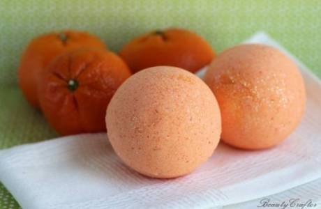 DIY Orange Bath Bomb Recipes