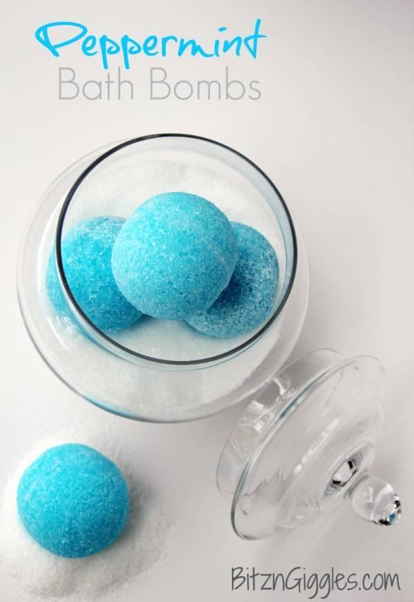 Peppermint Bath Bomb Recipe