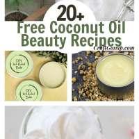 20 DIY Bath & Body Recipes Using Coconut Oil