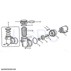 LH, LTH Pump Replacement Parts