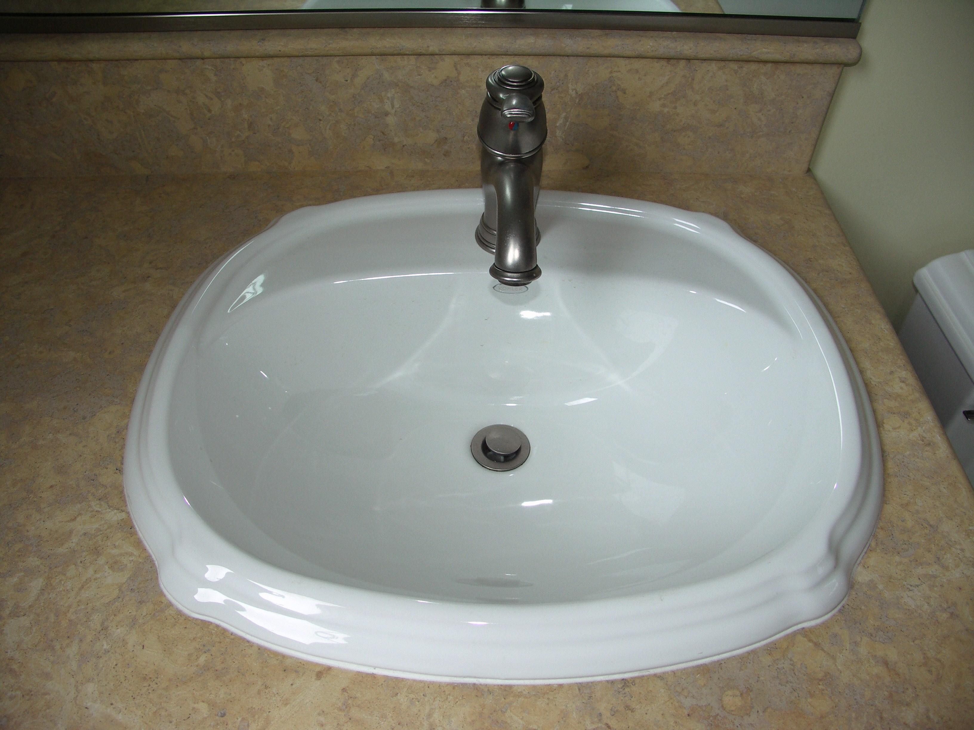 Undermount Versus Overmount  Bathroom Remodel Blog
