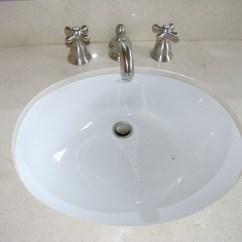 Overmount Kitchen Sink Island With Table Attached Undermount Versus Bathroom Remodel Blog