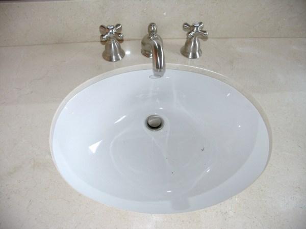 Undermount Overmount Bathroom Remodel