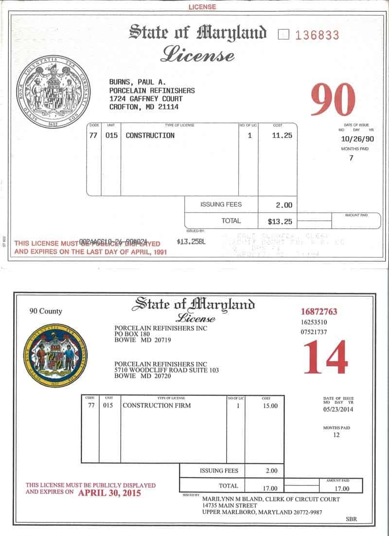 Fake Business License : business, license, Business, License, Insurance, BathRenovationHQ