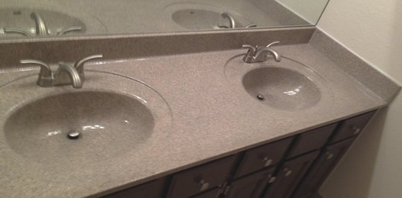 refinishing kitchen countertops grohe faucets parts countertop resurfacing done in 1 day bath vanity resurfaced multistone
