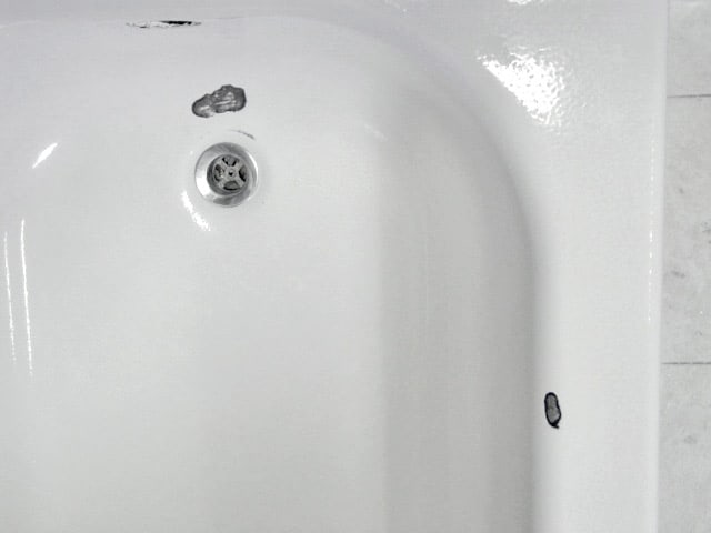 Bathtub Chip Repair  Porcelain Tub Chip Repair
